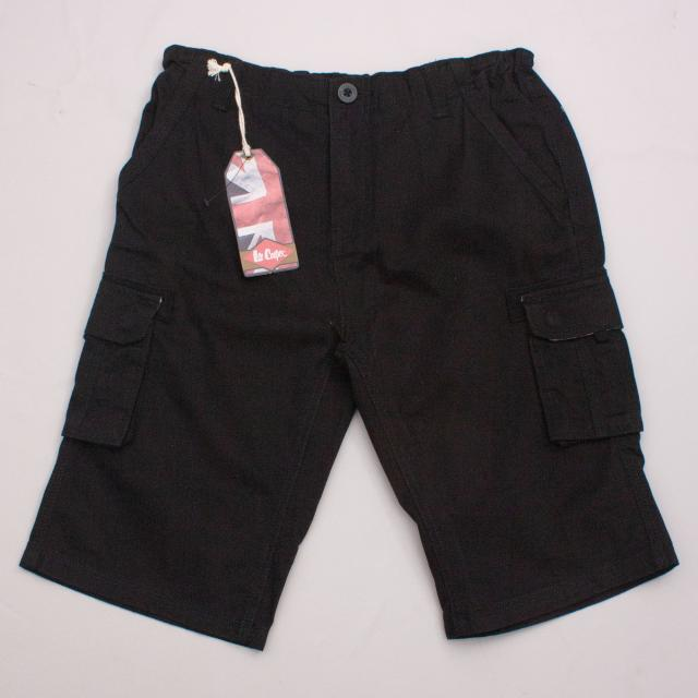 "Lee Copper Black Cargo Shorts ""Brand New"""