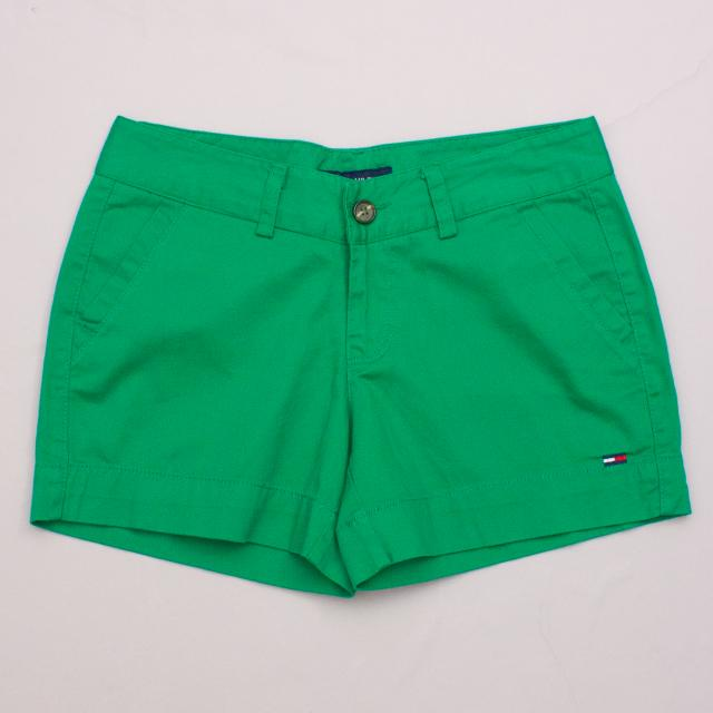 Tommy Hilfiger Green Shorts