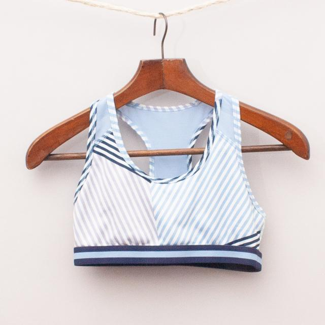 Old Navy Striped Crop Top