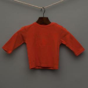 Orange Long Sleeve Top