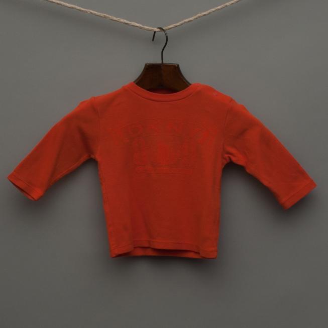 Orange Long Sleeve Top