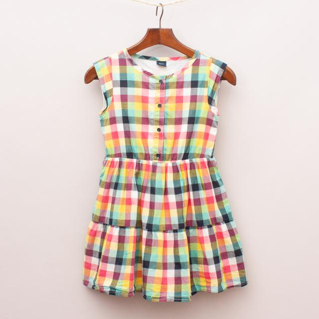 Gap Check Dress
