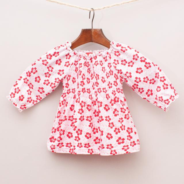 "Sprout Floral Smock ""Brand New"""