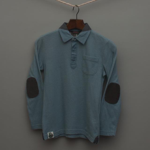 Blue Long Sleeve Top