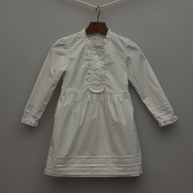 Sheer Light Grey Dress