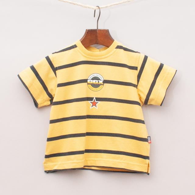 Gumboots Striped T-Shirt