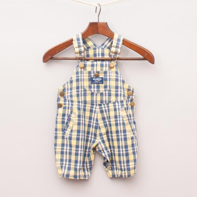 OshKosh Plaid Overalls