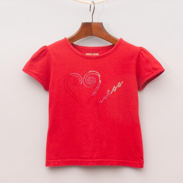 Guess Embellished T-Shirt