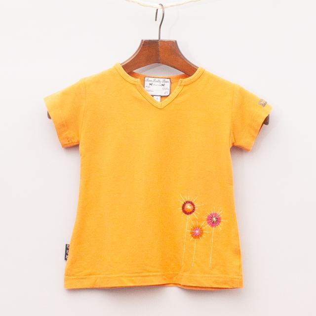 Run Scotty Run Flower T-Shirt