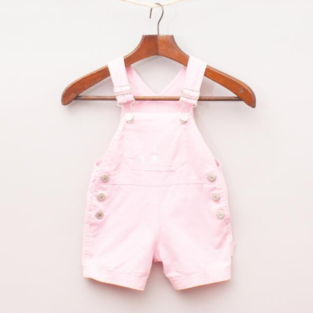 Papoose Pink Overalls