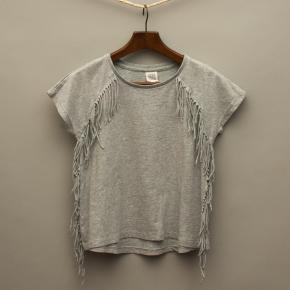 Grey Tassled T-Shirt