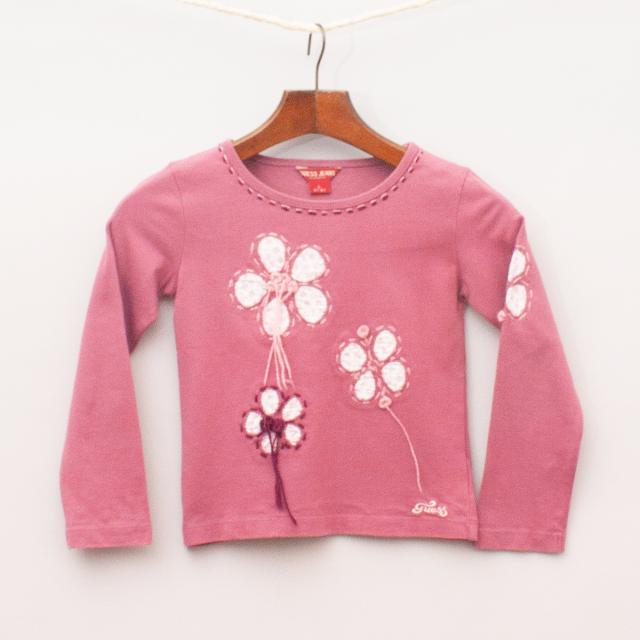 Guess Floral Long Sleeve