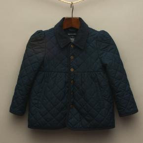 Navy Blue Puffer Coat