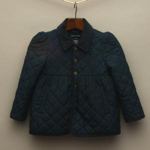 Navy Blue Puffer Coat