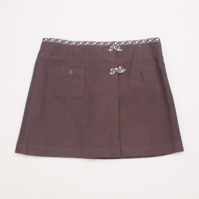 Gumboots Charcoal Skirt