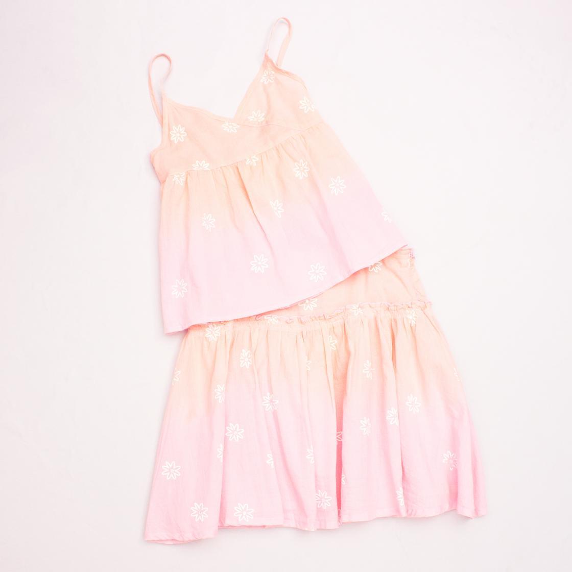 Gumboots Floral Singlet & Skirt Set