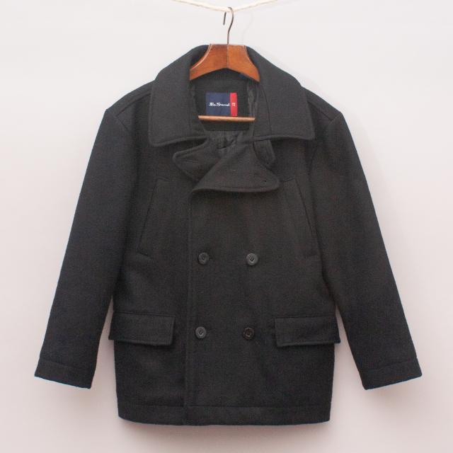 Ben Sherman Black Coat