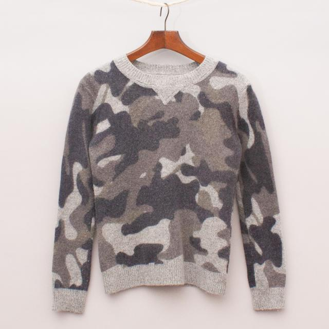 Witchery Camo Jumper