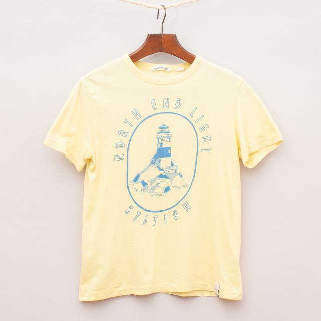 Country Road Lighthouse T-Shirt