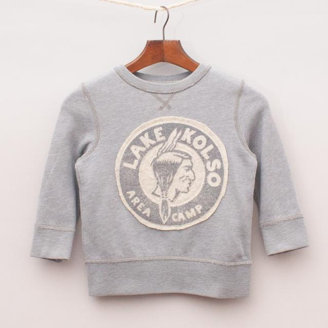 Country Road Grey Jumper