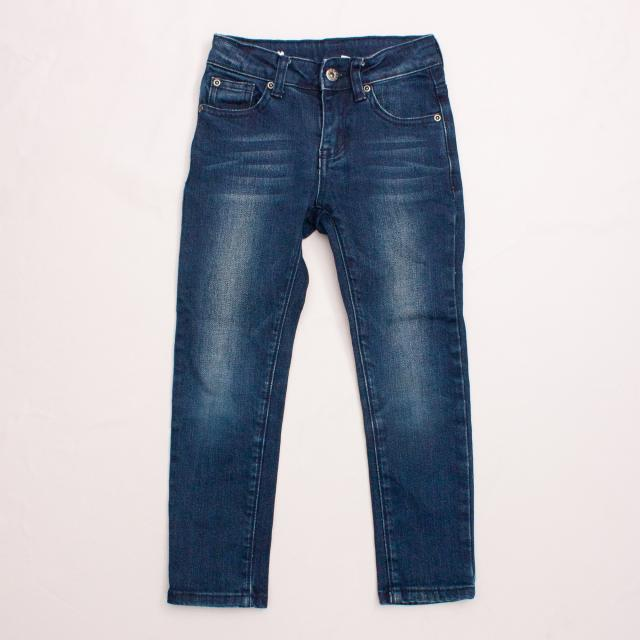 Seed Distressed Denim Jeans