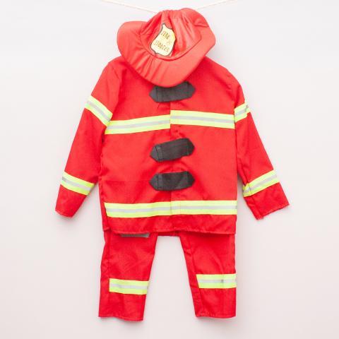 "Fireman Costume - Size M ""Brand New"""