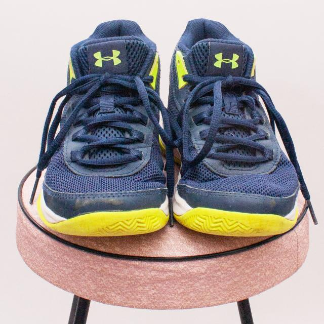 Under Armour Blue Sneakers - Size EU 33.5 (Age 6 Approx.)