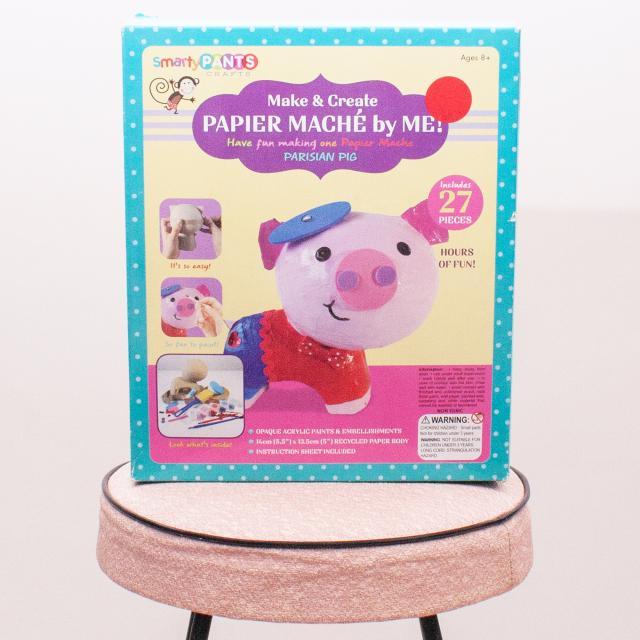 """Papier Mache by Me Parisian Pig Set """"Brand New"""""""