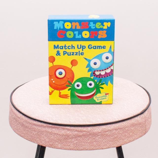 Monster Colours Match Up Game & Puzzle