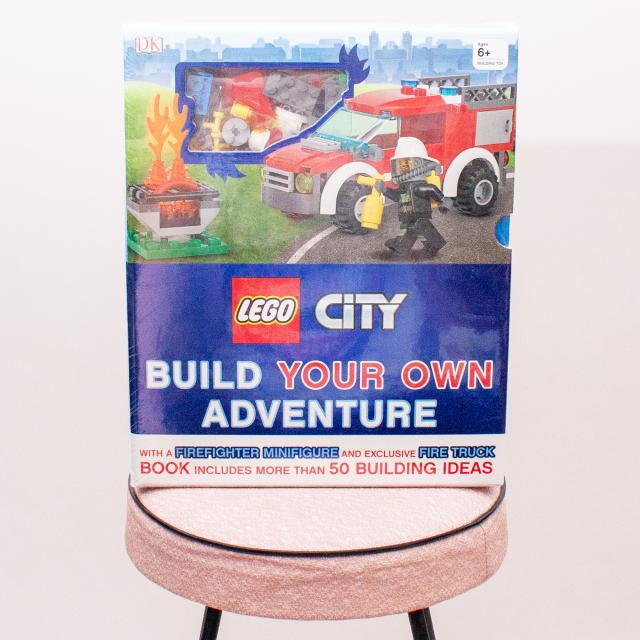 "Lego City Build Your Own Adventure ""Brand New"""