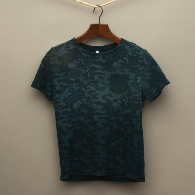 Navy Blue Camo T-Shirt