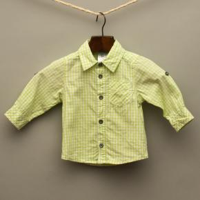 Lime Green Check Shirt