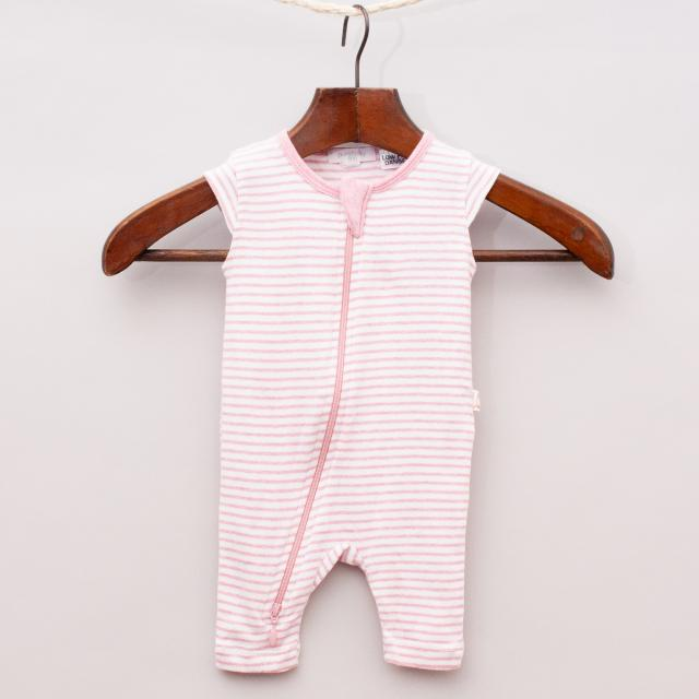 Purebaby Striped Romper