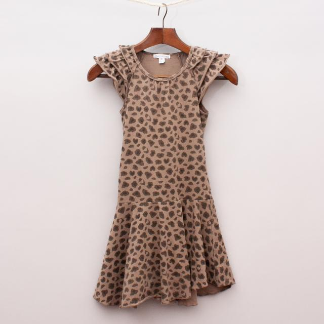 Charlie & Me Leopard Dress