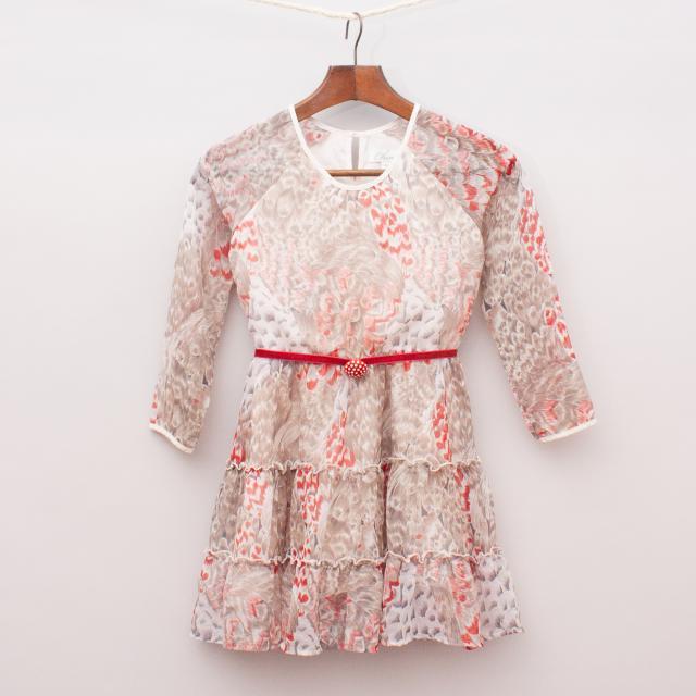 Chino Feather Dress