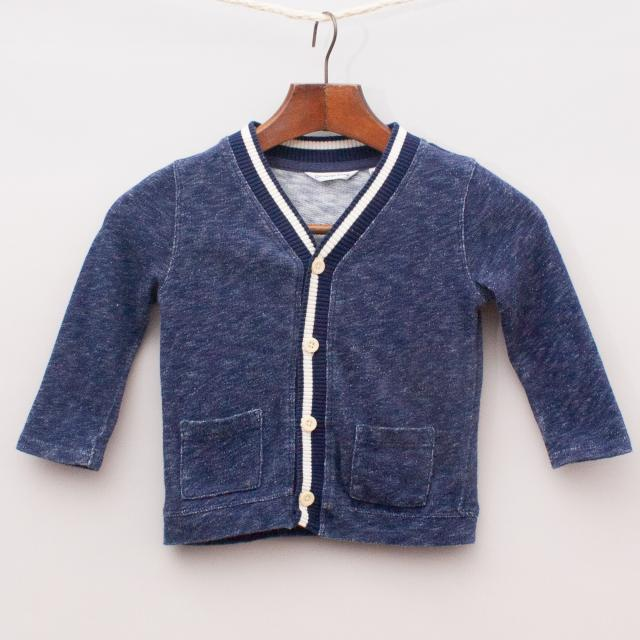 Country Road Blue Cardigan