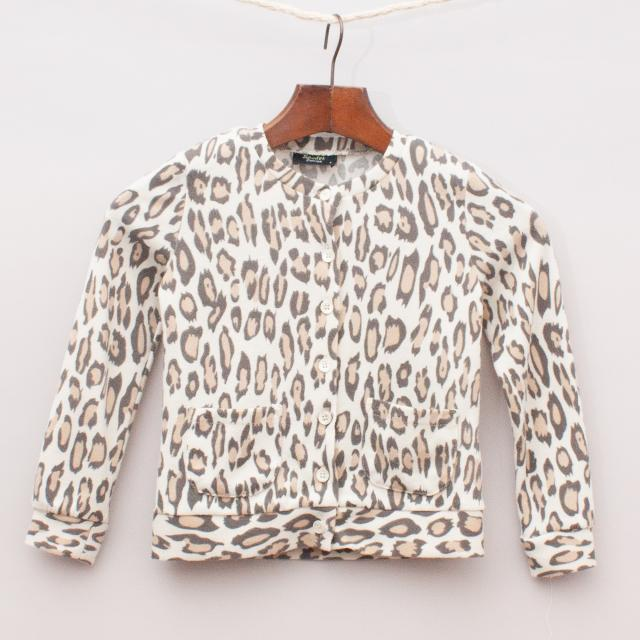 Bardot Leopard Cardigan