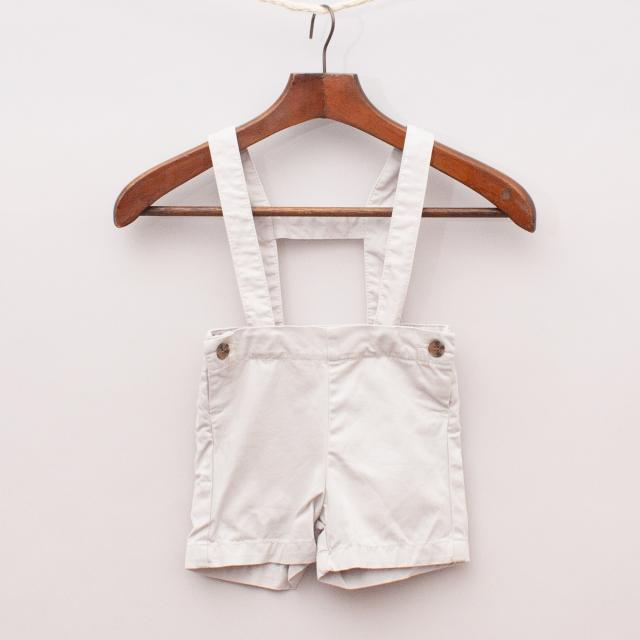 Gocco Grey Shorts & Suspenders