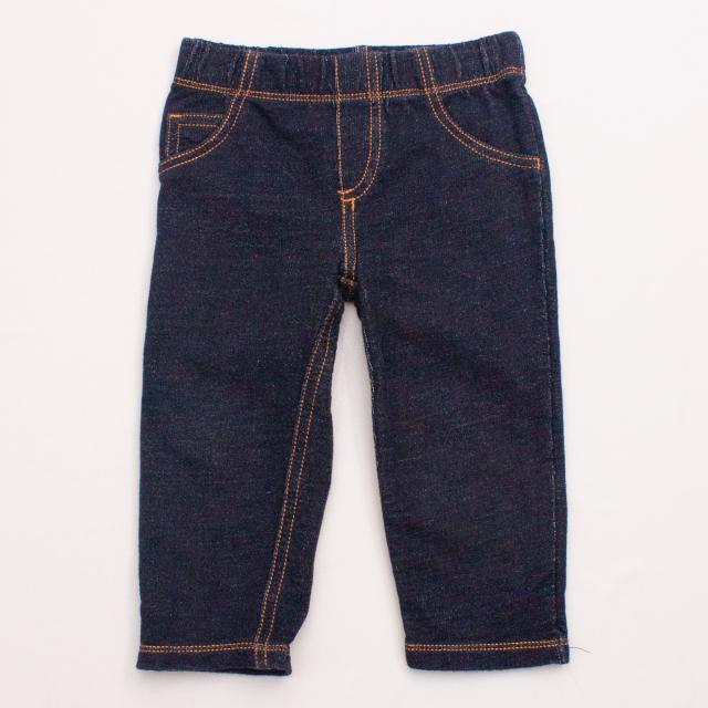 Carter's Denim-Look Trackpants