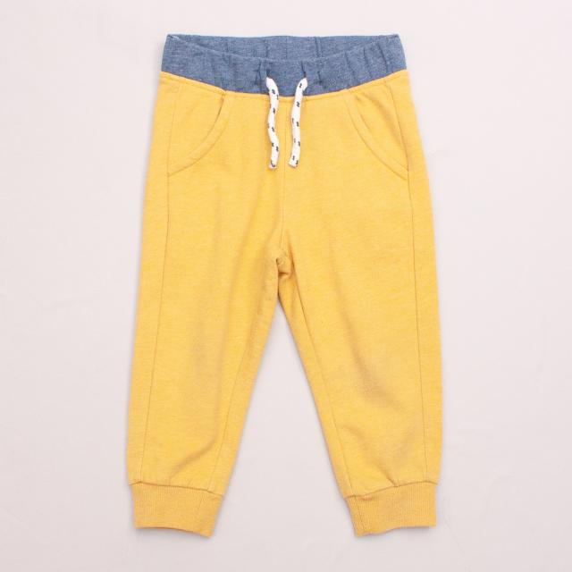Baby Club Yellow Trackpants