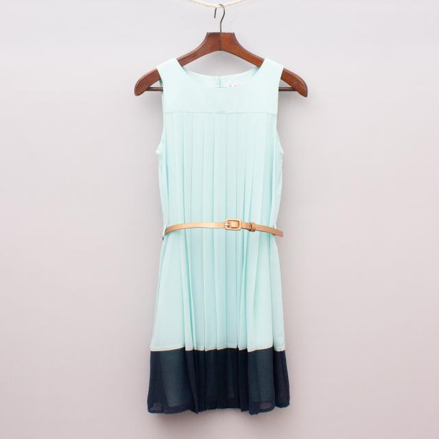 Miss Leona Pleated Dress