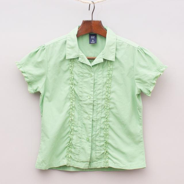 Gap Green Shirt