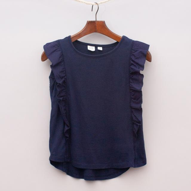 Gap Ruffle Singlet Top