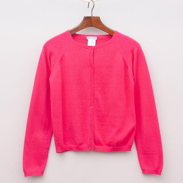 Jacadi Pink Cardigan