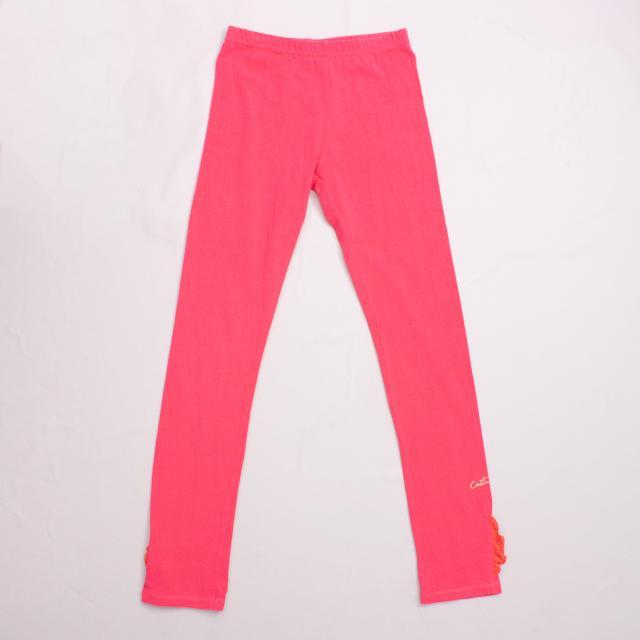 Catimini Pink Leggings