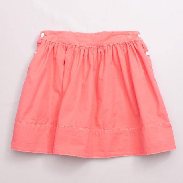 Petit Bateau Watermelon Pink Skirt