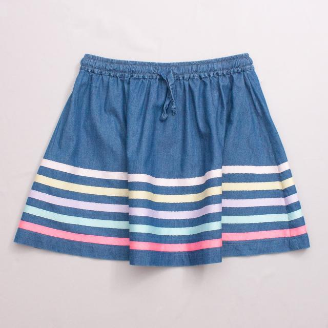 Florrie Striped Skirt