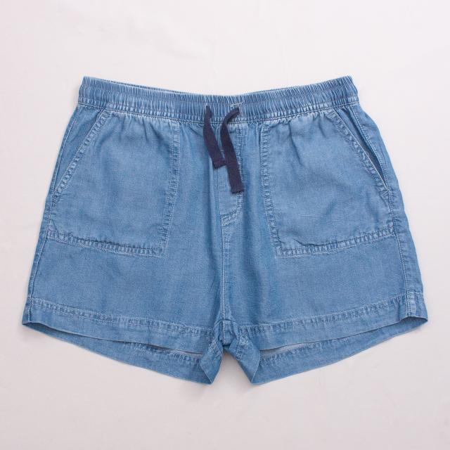Decjuba Chambray Shorts