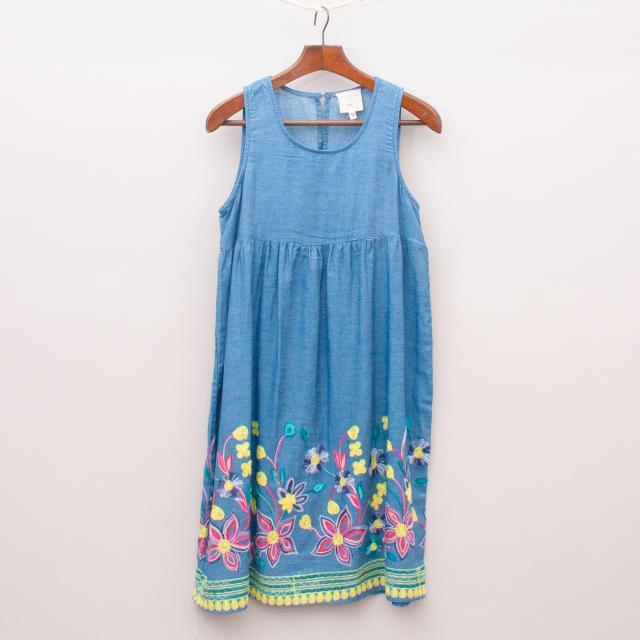 Hayden Embroidered Dress