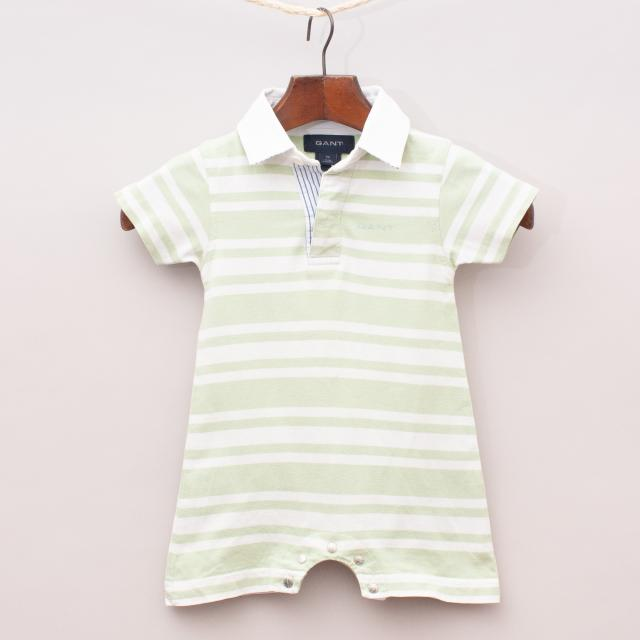 Gant Striped Polo Romper